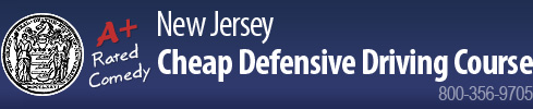 New Jersey Cheap Defensive Driving Course